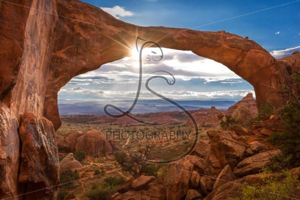 The Arching Sunrise - LotsaSmiles Photography