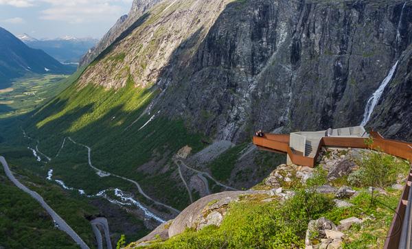 The Trollstigen viewpoint in Norway | LotsaSmiles Photography