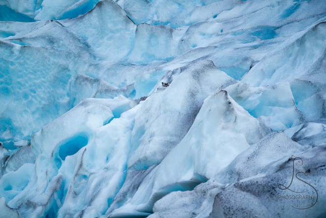 Ice details of the Nigardsbreen glacier in Norway | LotsaSmiles Photography