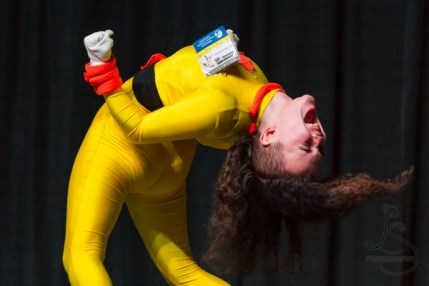 Sydney Schlotte rocking it as Powerline from A Goofy Movie at Kumoricon 2018 | LotsaSmiles Photography
