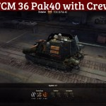 FCM 36 Pak40 Remodel with Crew