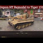 Japan HT Remodel to Tiger 131