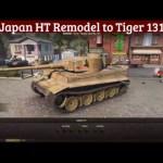Japan HT Remodel to Tiger 131