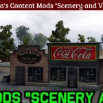 Grandpa's Content Mods – Scenery and Vehicles