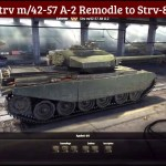 Strv-m/42-57 A-2 Remodel to Strv-81