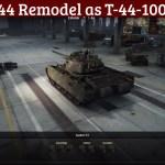 T-44 Remodel as T-44-100-P