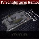 PzIV Schalmturm Remodel