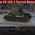 Type 59 Remodel with 132-1 Turret Swap