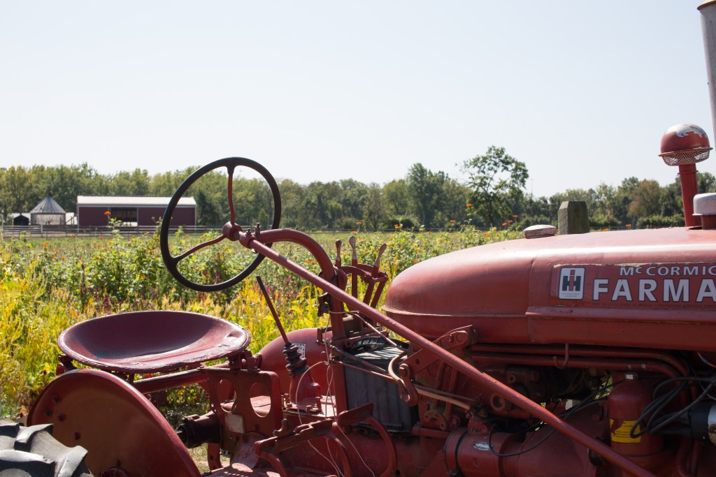 American Farming - Red Tractor