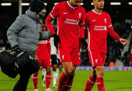 Disappointing News For Liverpool As Defensive Crisis Worsens