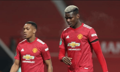 Paul Pogba Admits His Frustration After Manchester United's 2-0 Loss To Manchester City