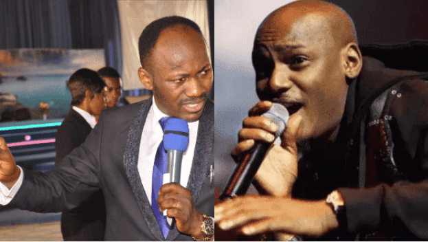 Tuface Idibia Shades Apostle Johnson Suleman, Blasts His Congregation Members For Not Knowing Suleman's Tricks