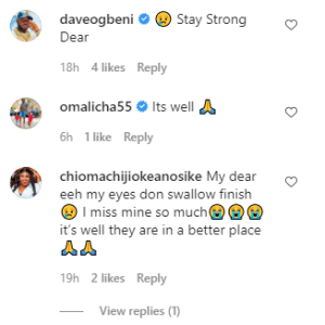 Nigerian Actress Luchy Donalds Reacts To Mother's Day Celebration As She Said 'I Miss My Mum So Much, It's Still Like A Dream'