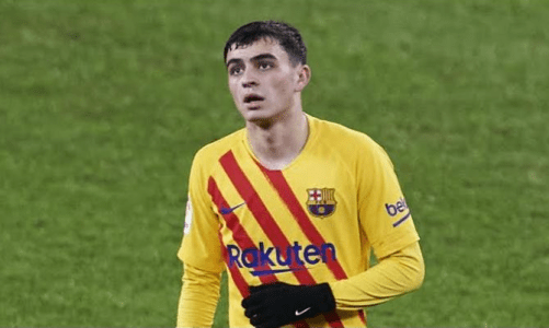 Barcelona Youngster Pedri Called Up To The Spanish Senior National Team For The First Time