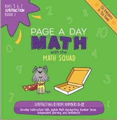 page a day math 3