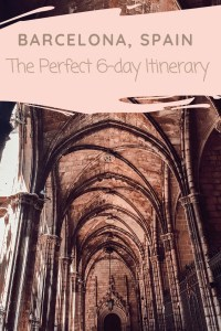 Barcelona Itinerary to help you plan | Lots of Lora