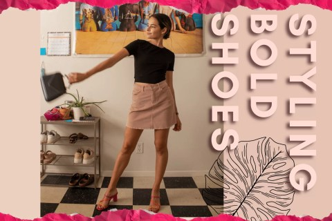 8 Ways To Style Bold Shoes   Lots of Lora