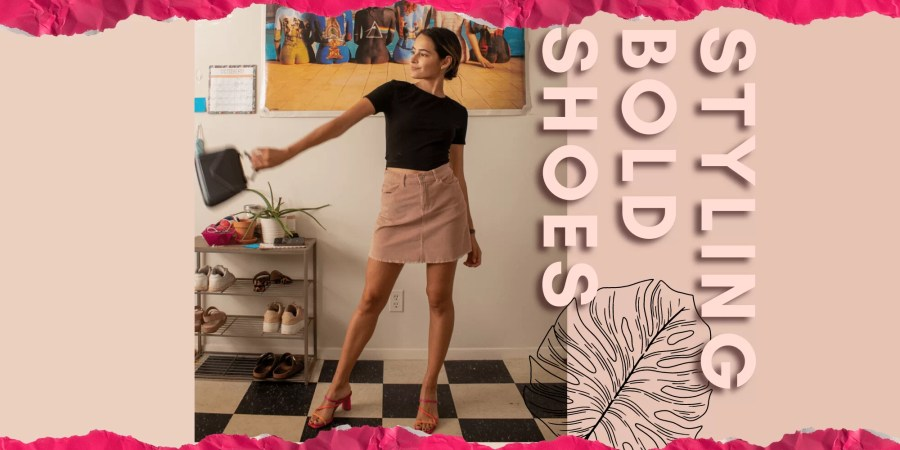 8 Ways To Style Bold Shoes | Lots of Lora