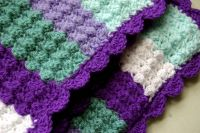 Quick and easy crochet baby blanket | lots of nice things