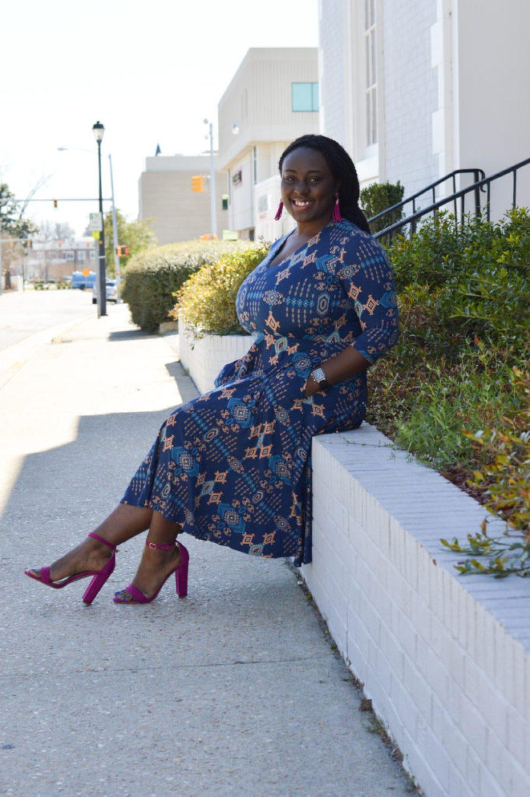 Pink heels