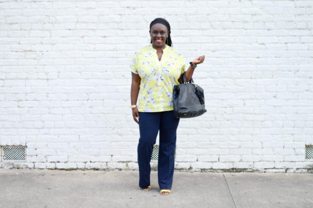 Work wear-cabi clothing-north carolina-blogger-rewardstyle-sponsored-black girls who blog-