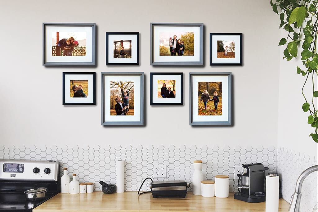 family portrait pricing wall gallery
