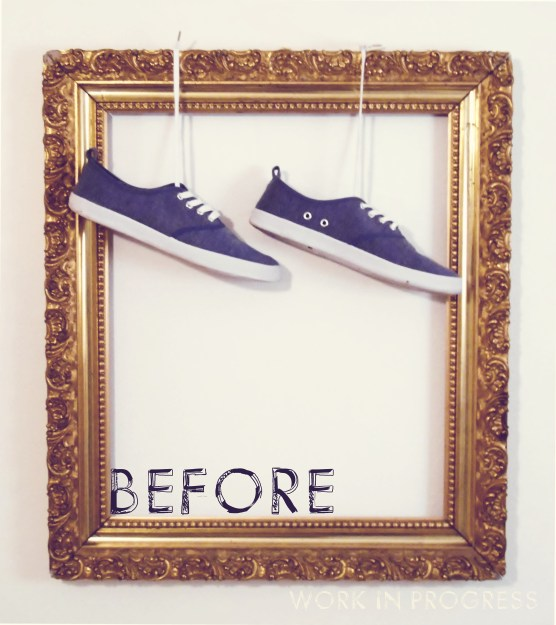 Shoes - before
