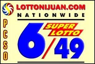 6/49 Superlotto Results