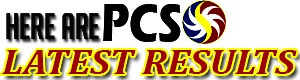 PCSO Results