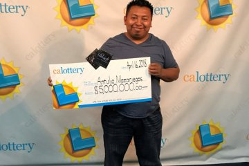 $6 million in prize winner, Antulio Mazariegos. Image Credit ©Tribune Media Wire