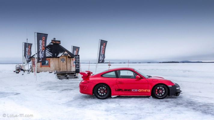 Lapland Ice Driving