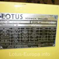 1970 Lotus Europa S2 Build Plate