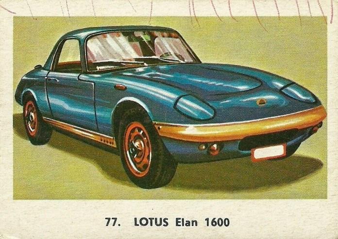 Lotus Elan 1600 card