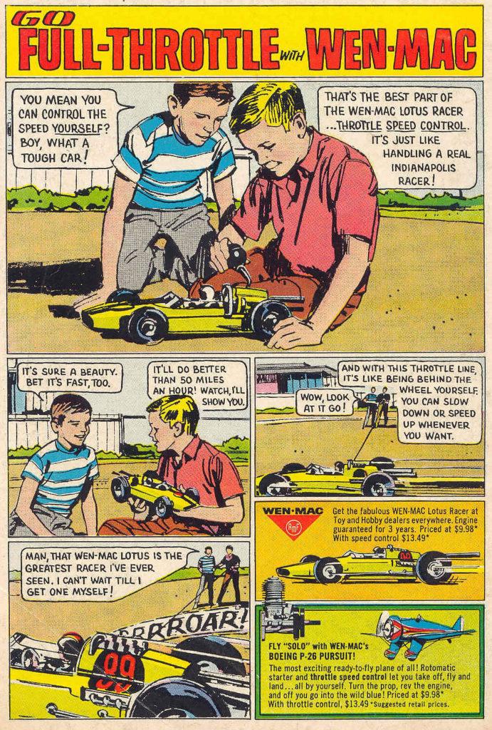 Wen-Mac Lotus Cartoon ad