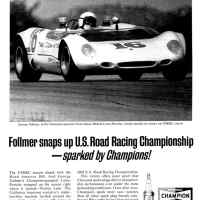 George Follmer - Lotus Porsche