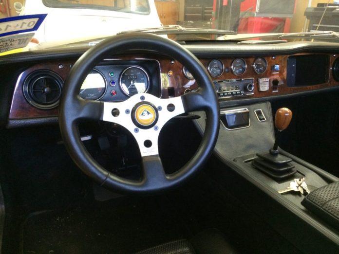 1971 Lotus Europa S2 interior