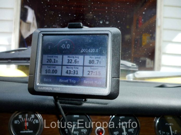Lotus Europa GPS