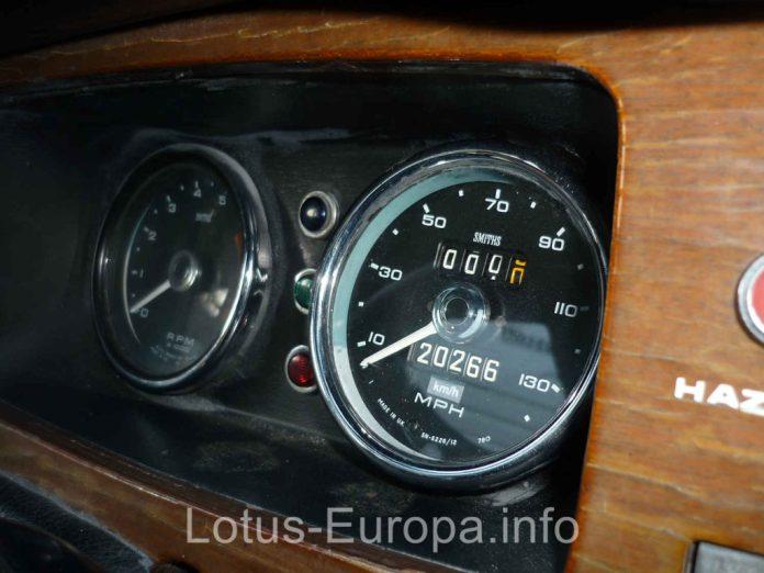 Lotus Europa Speedometer