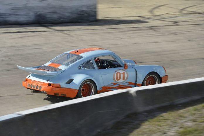 Gulf Colored Porsche 911