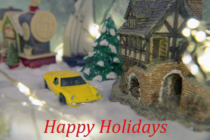 Lotus Europa Happy Holidays