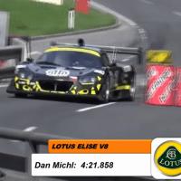Lotus Elise V8 at Rechberg HillClimb 2019