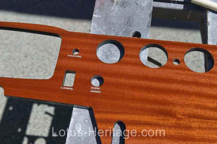 Adding lettering to the Lotus Dash