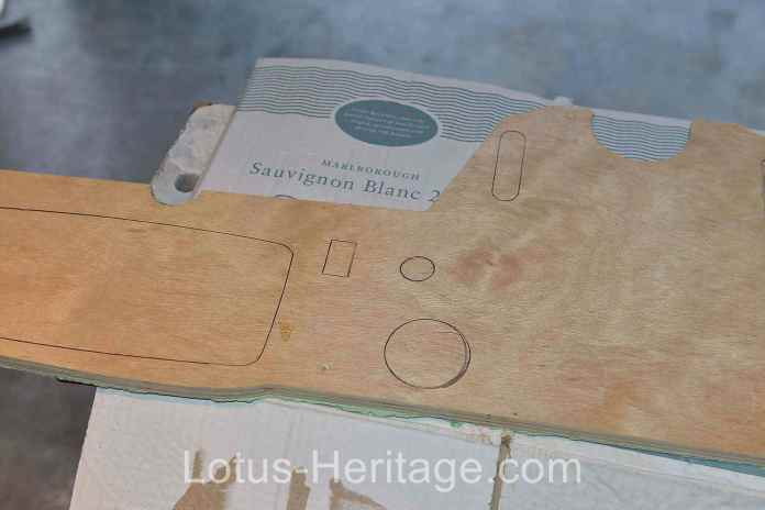 Marking gauge and switch cut outs
