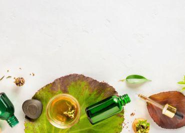 Bain d'huile pour des cheveux brillants