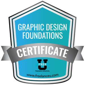 Graphic Design Foundations Certification - Freelance University