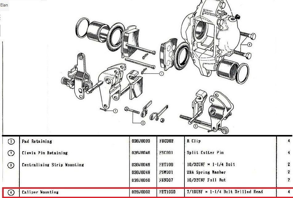Rear Caliper : Suspension / Steering / Brakes / Wheels