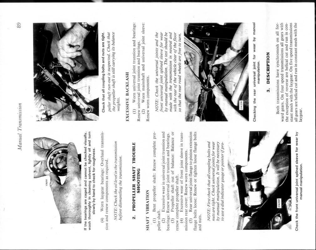 DETAILED REPORT Five Speed ISUZU : Drive Train / Gearbox