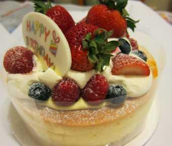 0715 Fruit cheese soufflé (Italian Tomato) 2