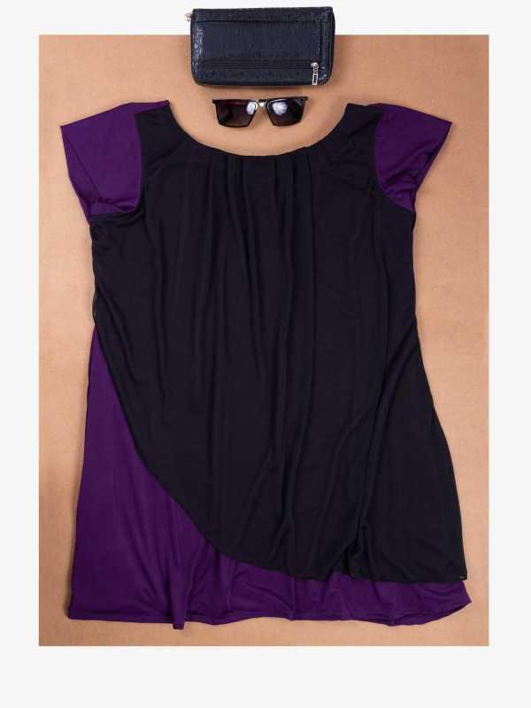 Purple Overlay Top