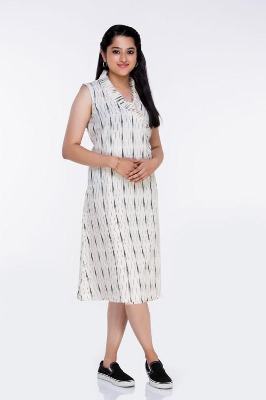 plus size ikat dresses